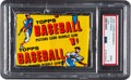 Baseball Cards:Unopened Packs/Display Boxes, 1956 Topps Baseball 1-Cent Wax Pack PSA Mint 9....