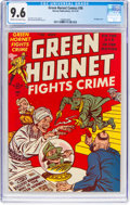Golden Age (1938-1955):Crime, Green Hornet Comics #36 (Harvey, 1947) CGC NM+ 9.6 Cream to off-white pages....