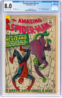 The Amazing Spider-Man #6 (Marvel, 1963) CGC VF 8.0 Off-white to white pages