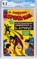 Silver Age (1956-1969):Superhero, The Amazing Spider-Man #12 (Marvel, 1964) CGC NM- 9.2 Off-white to white pages....