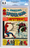 Silver Age (1956-1969):Superhero, The Amazing Spider-Man #13 (Marvel, 1964) CGC VF+ 8.5 Off-white to white pages....