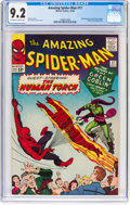 Silver Age (1956-1969):Superhero, The Amazing Spider-Man #17 (Marvel, 1964) CGC NM- 9.2 Off-white towhite pages....