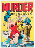 Golden Age (1938-1955):Crime, Murder Incorporated #5 (Fox Features Syndicate, 1948) Condition: VG/FN....