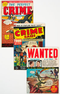 Golden Age Crime Group of 14 (Various Publishers, 1950s) Condition: Average FN.... (Total: 14 )