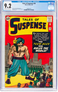 Tales of Suspense #38 (Marvel, 1963) CGC NM- 9.2 Off-white to white pages