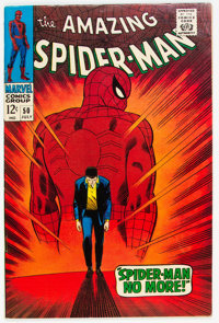 The Amazing Spider-Man #50 (Marvel, 1967) Condition: VG/FN
