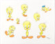"Virgil Ross - Tweety ""Model Sheet"" Drawing Original Art (Warner Brothers, c. 1990s)"