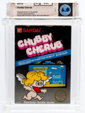 Video Games:Nintendo, Chubby Cherub (NES, Bandai, 1986) Wata 6.0 CIB (Complete in Box)....
