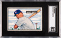 Baseball Cards:Singles (1950-1959), 1951 Bowman Mickey Mantle #253 SGC NM/MT 8....