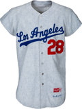 Baseball Collectibles:Uniforms, 1965 Wes Parker World Series Game Worn Los Angeles Dodgers Uniform.... (Total: 2 items)