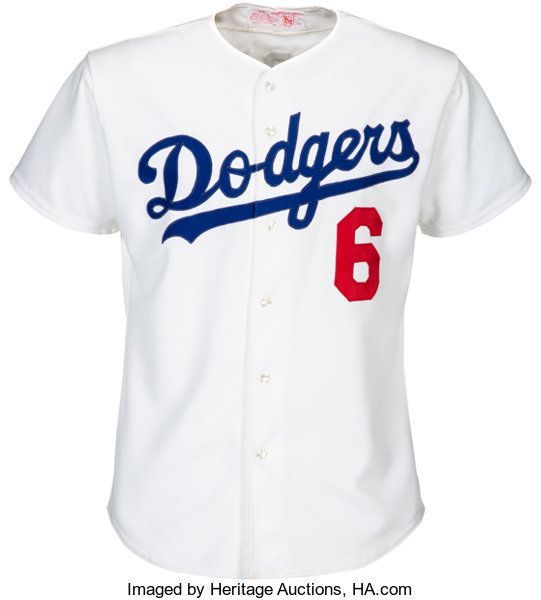 Mid 1970 s Steve Garvey Game Worn Los Angeles Dodgers Jersey ... 68156cc7740