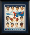 Baseball Collectibles:Others, 1950's B.F. Goodrich Baseball Advertising Display. ...