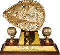 Baseball Collectibles:Others, 1976 George Scott Gold Glove Award....