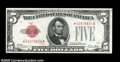 Small Size:Legal Tender Notes, Fr. 1525* $5 1928 Legal Tender Note. Choice Crisp Uncirculated....