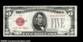 Small Size:Legal Tender Notes, Fr. 1527* $5 1928B Mule Legal Tender Note. Very Fine....