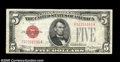 Small Size:Legal Tender Notes, Fr. 1528 $5 1928C Mule Legal Tender Note. Fine-Very Fine....