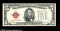 Small Size:Legal Tender Notes, Fr. 1531* $5 1928F Wide 1 Legal Tender Note. Choice Crisp Uncirculated....