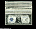 Small Size:Silver Certificates, Fr. 1602 $1 1928B Silver Certificates.... (22 notes)