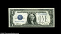 Small Size:Silver Certificates, Fr. 1605 $1 1928E Silver Certificate. About Uncirculated....