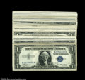 Small Size:Silver Certificates, Fr. 1608 $1 1935A Silver Certificates.... (50 notes)