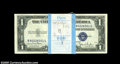 Small Size:Silver Certificates, Fr. 1613N $1 1935D Silver Certificates. Original Pack of 100. Choice Crisp Uncirculated or Better.... (100 notes)