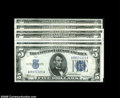 Small Size:Silver Certificates, Fr. 1650 $5 1934 Silver Certificates.... (7 notes)