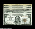 Small Size:Federal Reserve Bank Notes, A Nice Lot of 1929 $50 Federal Reserve Bank Notes, Including... (7 notes)