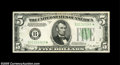 Small Size:Federal Reserve Notes, Fr. 1958-B* $5 1934B Federal Reserve Note. Choice About Uncirculated....
