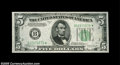 Fr. 1959-B* $5 1934C Federal Reserve Note. Choice Crisp Uncirculated. The paper is fresh and crackly with especially dee...