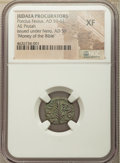 Ancients:Ancient Lots , Ancients: ANCIENT LOTS. Judaea. Porcius Festus (ca. AD 59-62). Lotof three (3) AE prutah. NGC Money of the Bible, VF-XF.... (Total: 3coins)