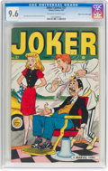 Golden Age (1938-1955):Humor, Joker Comics #27 Mile High Pedigree (Timely, 1947) CGC NM+ 9.6 Off-white to white pages....