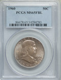 Franklin Half Dollars, 1960 50C MS65 Full Bell Lines PCGS. PCGS Population: (1101/96). NGC Census: (168/4). CDN: $150 Whsle. Bid for problem-free ...