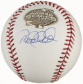 Autographs:Baseballs, 2003 Derek Jeter World Series Single Signed Baseball....