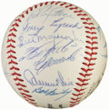 Autographs:Baseballs, 1966 Pittsburgh Pirates Team Signed (22 Signatures)....