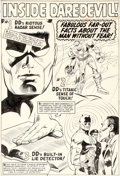 Original Comic Art:Splash Pages, Gene Colan and John Tartaglione Daredevil Annual #1 Pin-UpIllustration Original Art (Marvel, 1967)....
