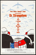 "Movie Posters:Comedy, Dr. Strangelove or: How I Learned to Stop Worrying and Love theBomb (Columbia, 1964) Folded, Very Fine-. One Sheet (27"" X 4..."