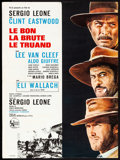 """Movie Posters:Western, The Good, the Bad and the Ugly (United Artists, 1968) Folded, Very Fine-. French Moyenne (22.75"""" X 31.5""""). Western...."""