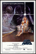 """Movie Posters:Science Fiction, Star Wars (20th Century Fox, 1977) Folded, Near Mint. One Sheet (27"""" X 41"""") Style A, Second Printing. Science Fiction...."""