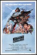 """Movie Posters:Science Fiction, The Empire Strikes Back (20th Century Fox, 1980). Folded, VeryFine+. One Sheet (27"""" X 41"""") Style B, Tom Jung Artwork..."""