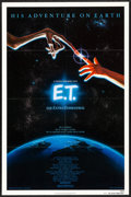 "Movie Posters:Science Fiction, E.T. The Extra-Terrestrial (Universal, 1982) Folded, Very Fine/Near Mint. One Sheet (27"" X 41""). John Alvin Artwork. Science..."