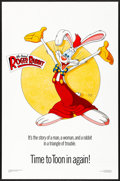 "Movie Posters:Animation, Who Framed Roger Rabbit (Kilian, 1988) Rolled, Very Fine+. OneSheet (27"" X 41"") SS, Style C. Animation...."