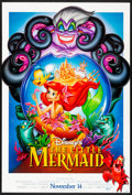 "Movie Posters:Animation, The Little Mermaid (Buena Vista, R-1997) Rolled, Very Fine/Near Mint. One Sheet (26.75"" X 39.75"") DS, Advance. Animation...."