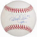 "Autographs:Baseballs, Derek Jeter ""#2 Captain"" Single Signed Baseball...."