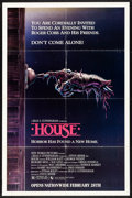 """Movie Posters:Horror, House & Other Lot (New World, 1985) Folded, Fine+. One Sheets (2) (27"""" X 41"""") Bill Morrison Artwork. Horror...."""