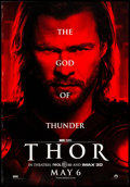 """Movie Posters:Action, Thor (Paramount, 2011) Rolled, Fine/Very Fine. Bus Shelter (46.25"""" X 68"""") DS Advance. Action...."""