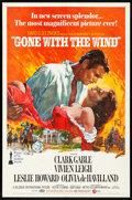"""Movie Posters:Academy Award Winners, Gone with the Wind (MGM, R-1970) Folded, Very Fine-. One Sheet (27""""X 41"""") Howard Terpning Artwork. Academy Award Winners...."""