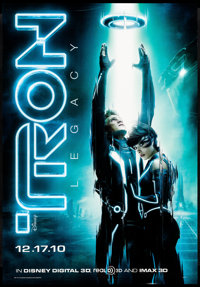 """Tron: Legacy (Walt Disney Pictures, 2010) Rolled, Very Fine+. Bus Stop (47.5"""" X 68.5"""") DS Advance. Action"""