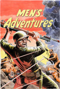 Original Comic Art:Covers, Russ Heath Men's Adventures #20 Cover Re-Creation Original Art Cover (2007)....