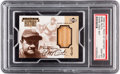 Baseball Cards:Singles (1970-Now), 1999 Upper Deck Piece of History Babe Ruth Game Used Bat #PH PSAGem Mint 10....