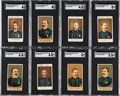 Non-Sport Cards:Lots, Scarce 1887 N284 Buchner Gold Coin Police Inspectors & Captains SGC-Graded Collection (16). ...